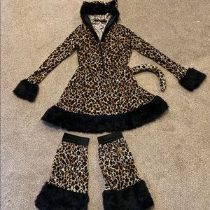 Adult cat/cheetah costume!